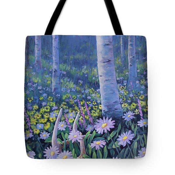 Spring Treasures Tote Bag
