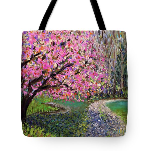 Spring Tree At New Pond Farm Tote Bag