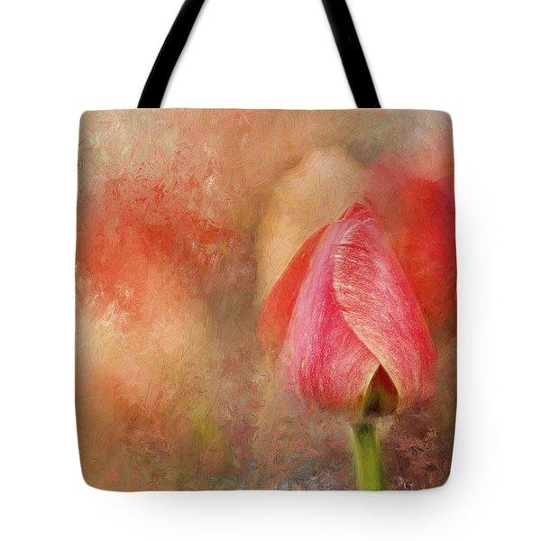 Spring Tulip Impressionii Tote Bag by Darren Fisher