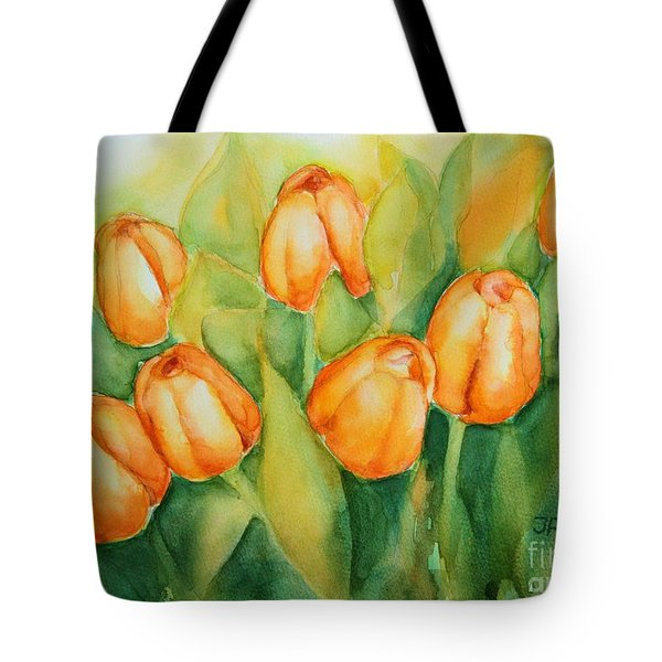 Spring Tulips 1 Tote Bag