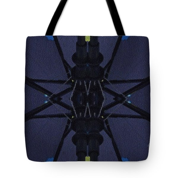 Spring Umbrella Tote Bag