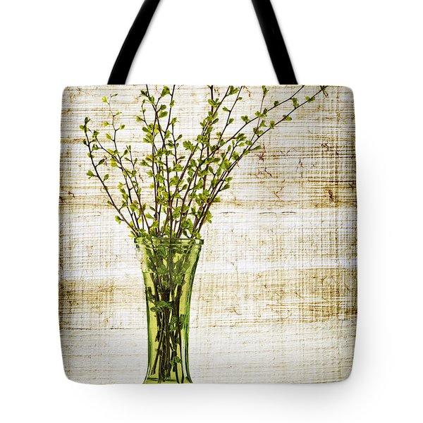 Spring Vase Tote Bag by Elena Elisseeva