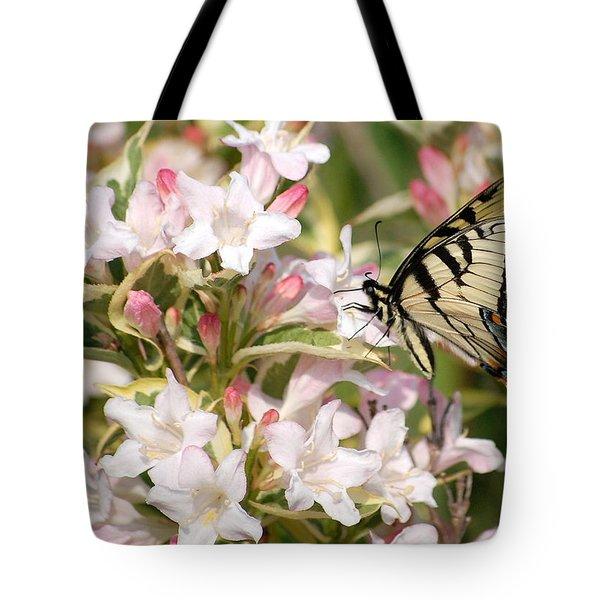 Spring Visit Tote Bag