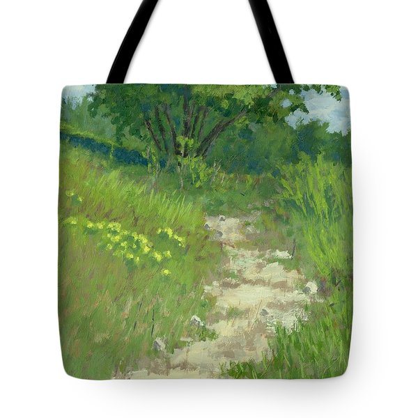 Spring Walk Tote Bag