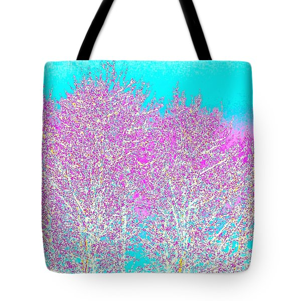 Spring Tote Bag by Will Borden