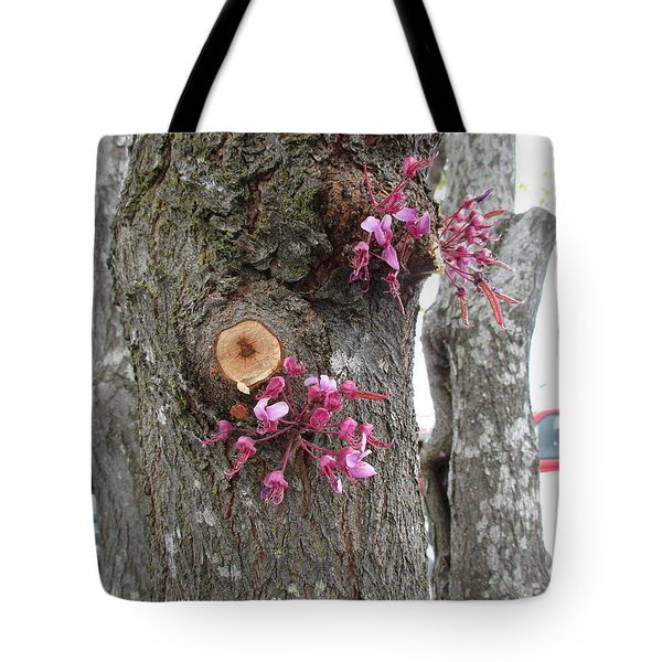 Spring Will Not Be Denied Tote Bag by Marie Neder