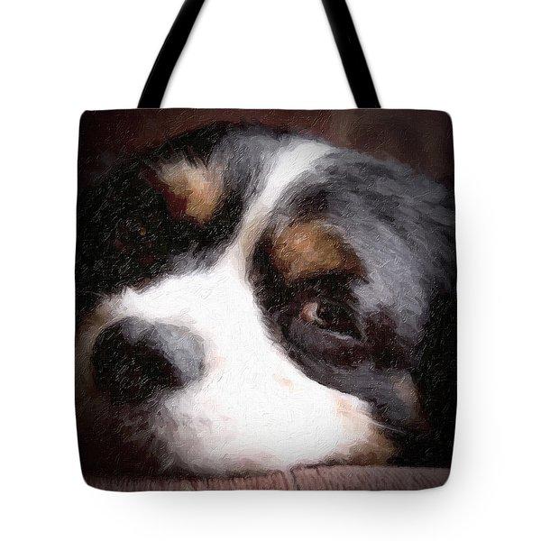 Springer Spaniel Tote Bag by Tom Mc Nemar