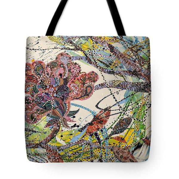 Springing Tote Bag