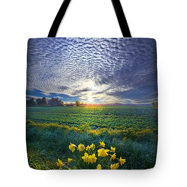 Springing To Life Tote Bag