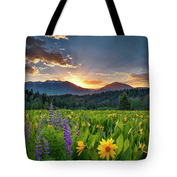 Spring's Delight Tote Bag by Leland D Howard