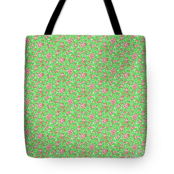 Springtime Botanicals-e Tote Bag