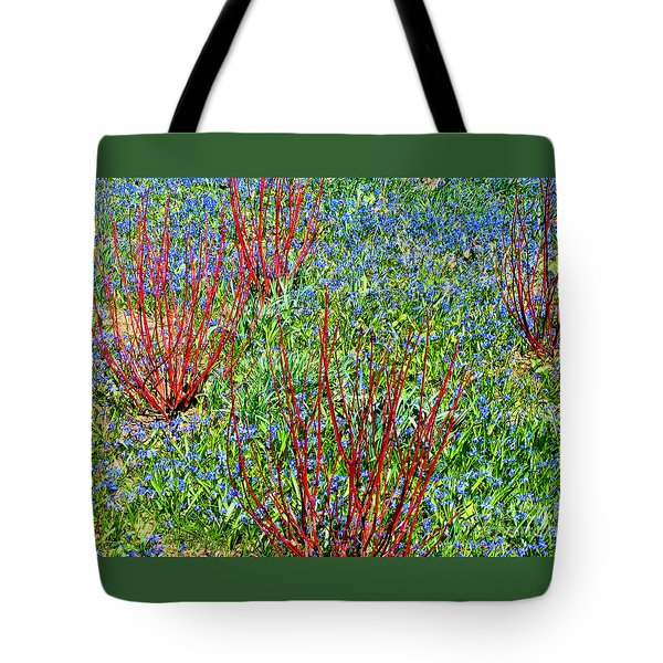 Tote Bag featuring the photograph Springtime Impression by Ann Horn