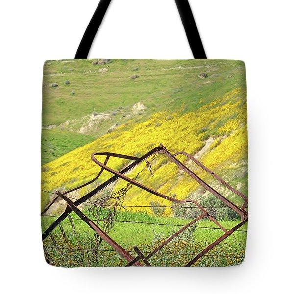 Springtime In California Tote Bag