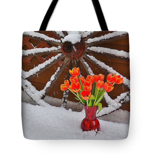 Springtime In Colorado Tote Bag