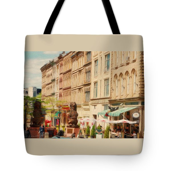 Springtime In Halifax Tote Bag by Jeff Kolker