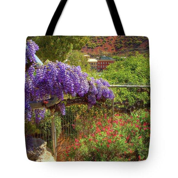 Springtime In Old Bisbee Arizona Tote Bag