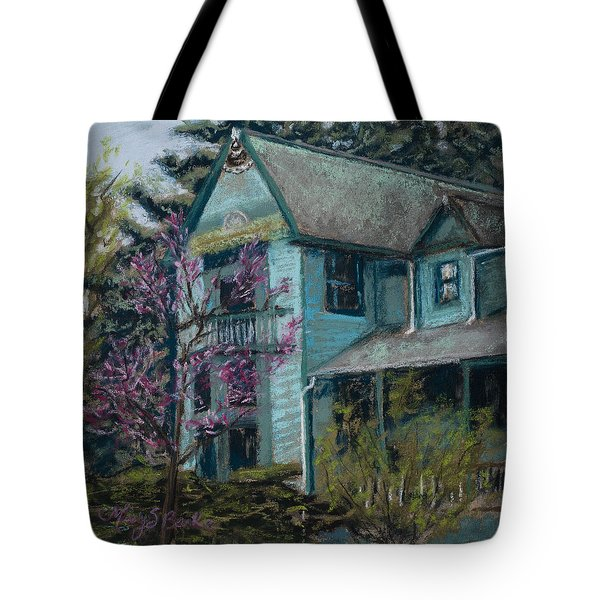 Springtime In Old Town Tote Bag