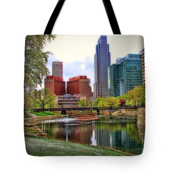 Springtime In Omaha Tote Bag