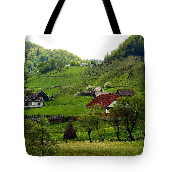 Springtime In Sirnea Tote Bag