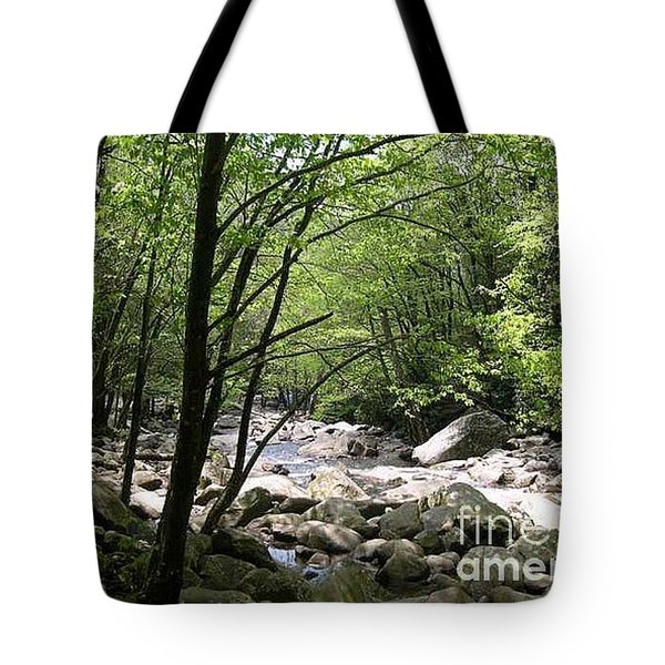 Springtime In The Smoky Mountains Tote Bag by Barb Montanye Meseroll