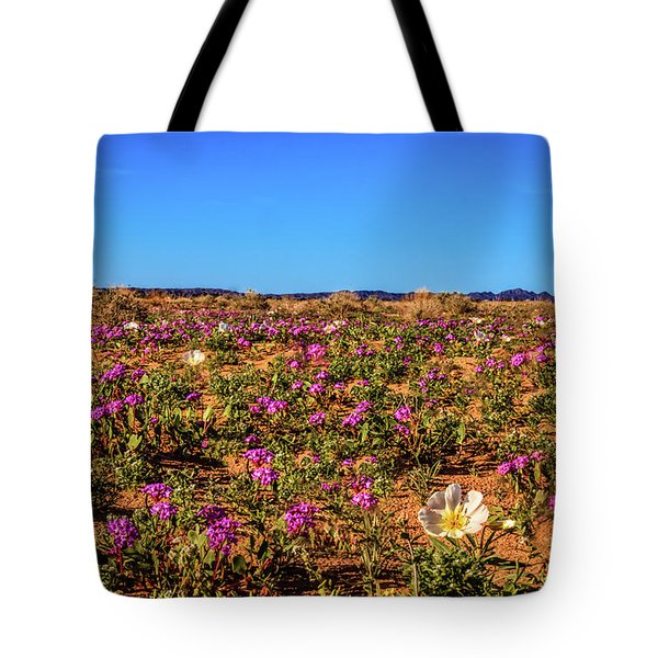 Tote Bag featuring the photograph Springtime In The Sonoran Desert by Robert Bales