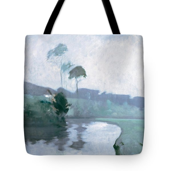 Springtime Tote Bag by John Henry Twachtman
