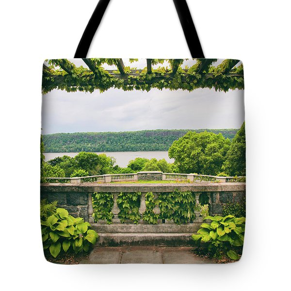 Springtime Pergola Tote Bag by Jessica Jenney