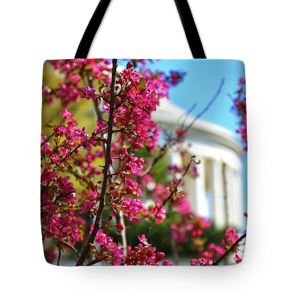 Tote Bag featuring the photograph Springtime Vibe by Mitch Cat