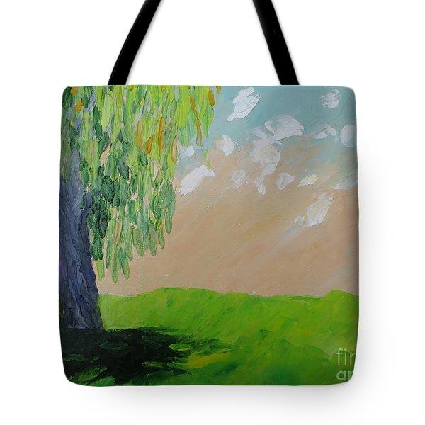 Springtime Willow Tote Bag