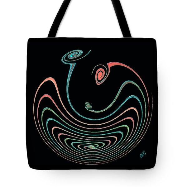 Springy Square Tote Bag