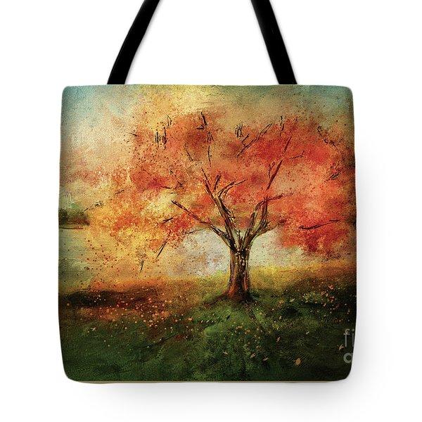 Sprinkled With Spring Tote Bag by Lois Bryan