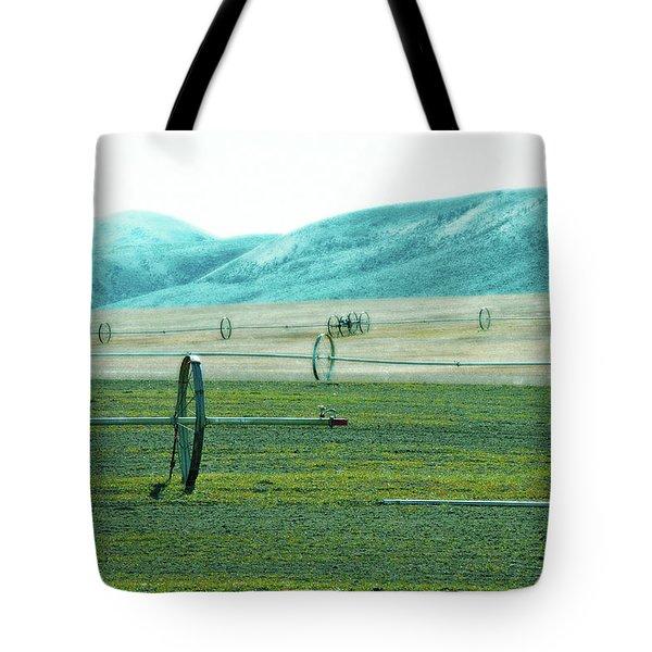 Sprinkler - Eastern Wa Tote Bag