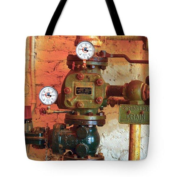A Spinkle In Time Sprinkler Guages Tote Bag