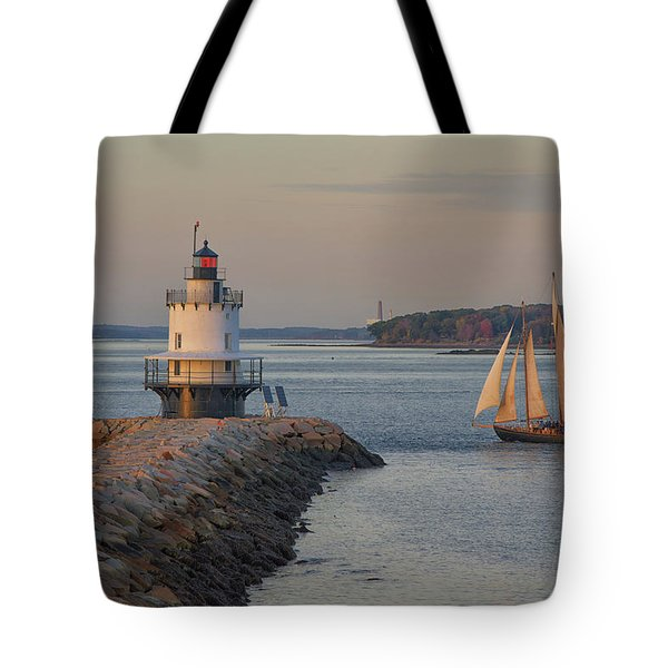Sprint Point Ledge Sails Tote Bag