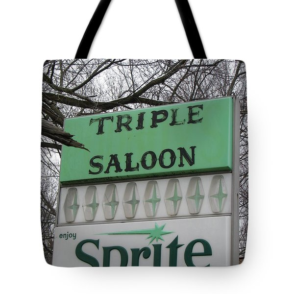 Tote Bag featuring the photograph Sprite Soda Pop by Michael Krek