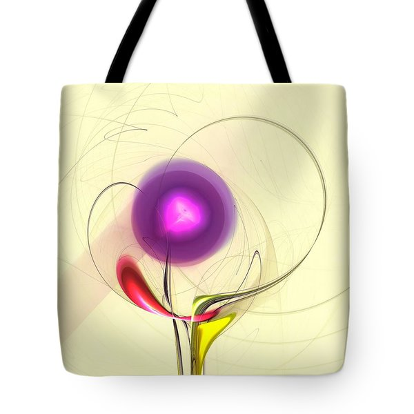 Tote Bag featuring the digital art Sprout by Anastasiya Malakhova