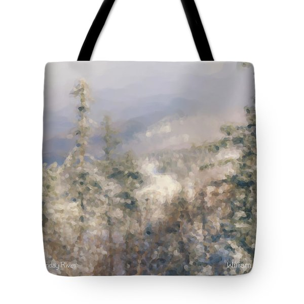 Spruce Peak Summit At Sunday River Tote Bag