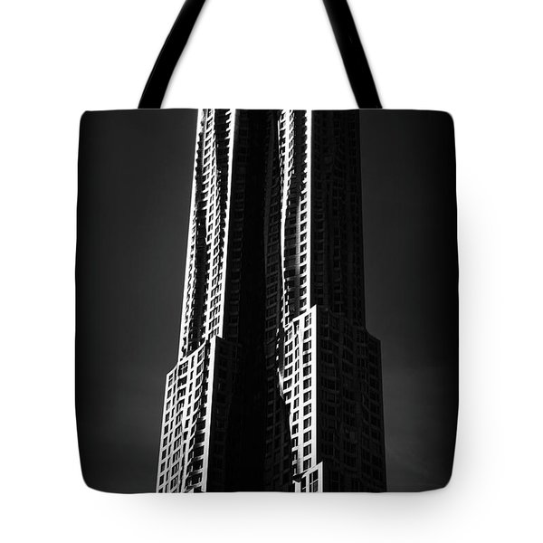 Tote Bag featuring the photograph Spruce Street By Gehry by Jessica Jenney