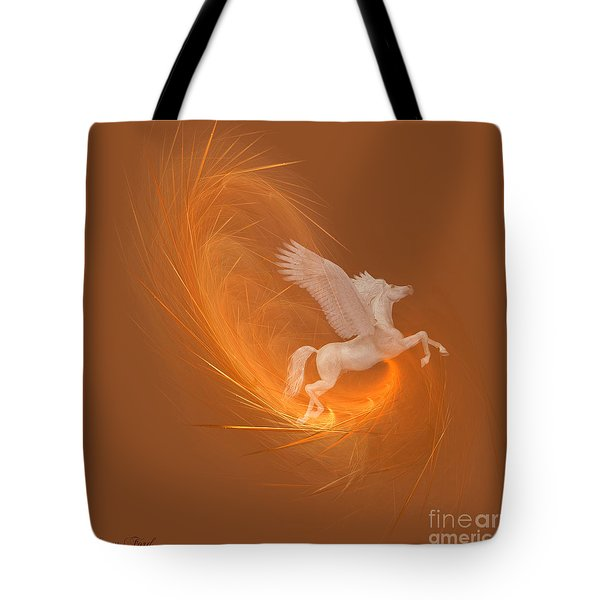 Spun From Gold Tote Bag by Corey Ford