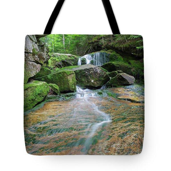 Spur Brook - Randolph New Hampshire Tote Bag