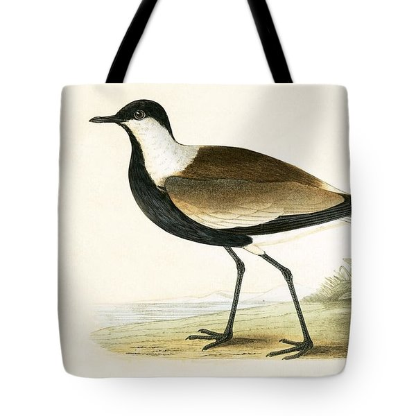 Spur Winged Plover Tote Bag by English School