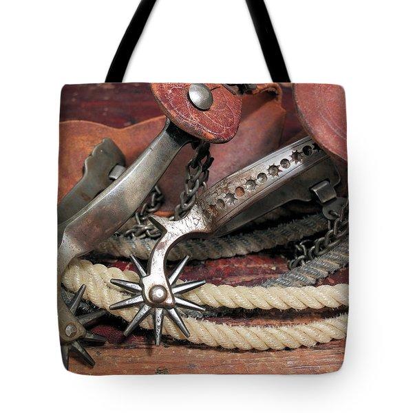 Spurs #2 Tote Bag by Scott Kingery