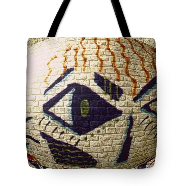 Tote Bag featuring the painting Spy Kids by Angela L Walker