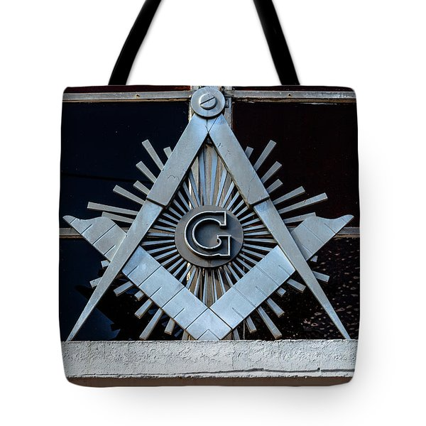 Square And Compass Tote Bag