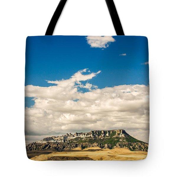 Square Butte Tote Bag
