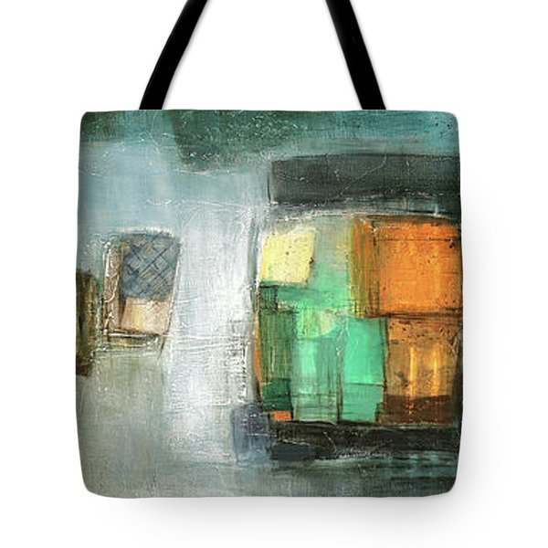 Square91.5 Tote Bag by Behzad Sohrabi