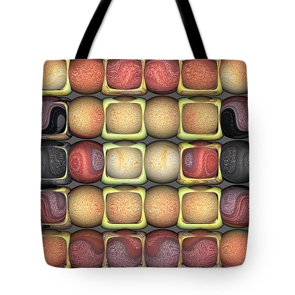 Square Holes Round Pegs Tote Bag