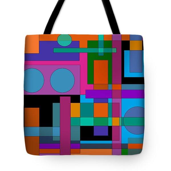 Square Pegs Tote Bag