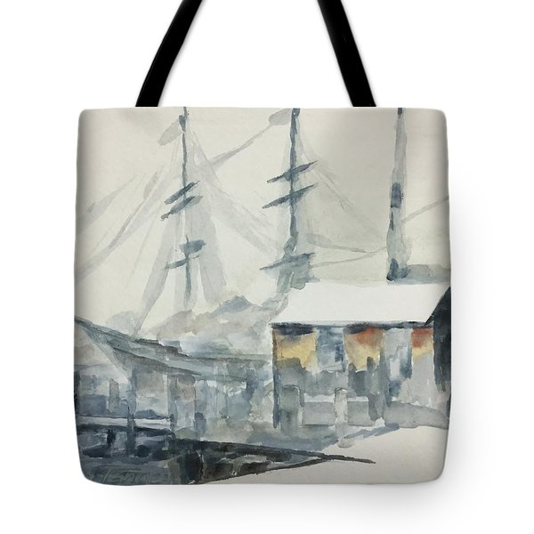 Square Rigger Tote Bag
