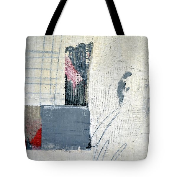 Tote Bag featuring the painting Square Study Project 12 by Michelle Calkins